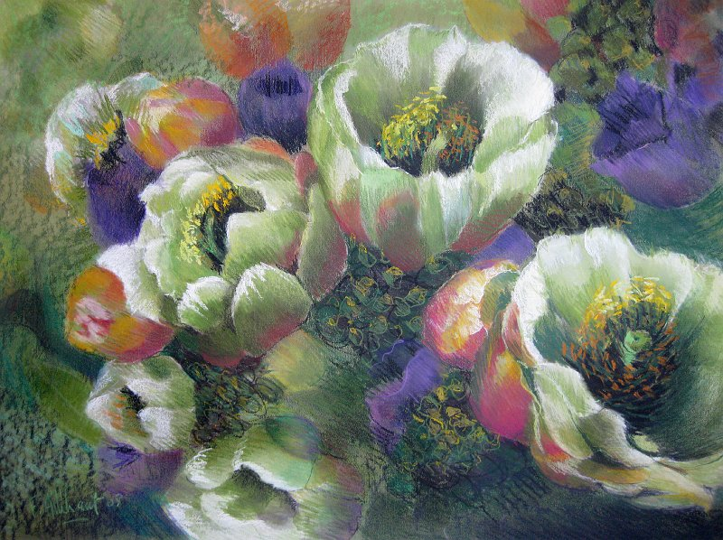 Atelier Francoise Allehaut Les Fleurs Fleurs Rose Des Sables